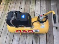 Air compressor 50l used. Works ok