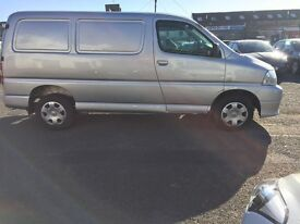 2009 TOYOTA HIACE VAN 280 D-4D 2.5L DIESEL 80K MILES, FSH, ONE OWNER, FREE DELIVERY AVAILABLE