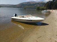 Fletcher 15ft speed boat (NOT bayliner, maxum, fishing boat, jet ski)