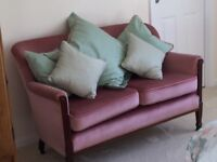 Antique two seater settee
