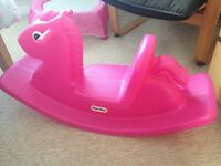 Excellent Little Tykes Rocking Horse
