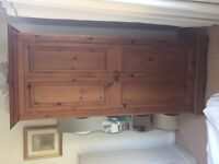 BEAUTIFUL SOLID PINE WARDROBE, OVER £320 NEW