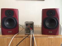 Quad 303 amp and Tannoy Reveal speakers