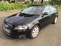 Audi A3 Sportback, 1.9 TDI diesel, 5 door, Black, FSH,