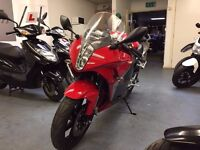 Hyosung GT R 125cc Manual Super Sports Bike, V Twin, Low Miles, Good Condition *Finance Available*
