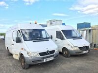 Mercedes sprinter van wanted!!!any condition