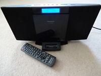 Panasonic Audio System -Hi-Fi - CD, FM/DAB Radio, iPod Docking