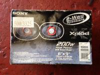 Sony Xplod Speakers 6x9 2 Way Brand New Incar Upgrade 200w Peak Power