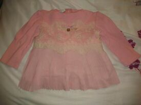 Stunning Designer Butterscoth Girls Scuba Top/Tunic, size 12-18months, excellent condition