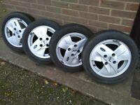 Winter tyres on Ford Ka Alloys