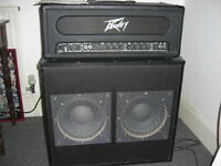 Peavey Amp 120 watts RMS, 2 x 150 watts RMS Speakers