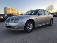 2001│Rover 75 2.0 CDT Connoisseur SE 4dr│1 Year MOT│Leather Seats│Heated Seats│Cruise Control