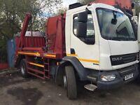 Skip lorry 18 ton NEW PRICE NEW mot Ready to work 07393 381215