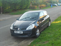 2007 RENAULT CLIO 1.2 16V EXTREME **6 MONTHS MOT** COLLECTION ONLY