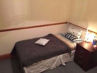 Well space room available for let in a four bedroom flat in Bow, E3.