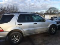 MERCEDES BENZ ML 270 CDI DIESEL AUTO SPARE PARTS
