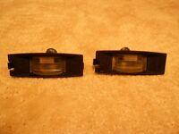 Ford fiesta rear no.plate light lenses