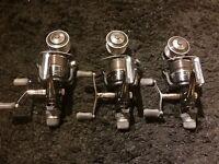 Shimano XTR 10000 RA Carp fishing reels set of 3