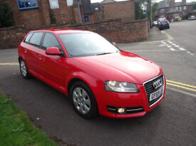 59 PLATE AUDI A3 E SE 1.9 TDI GOOD CONDITION ONLY £30 TAX VERY CLEAN CAR 96K MILEAGE