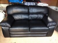 Practically brand new leather sofa in very good condition
