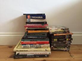 Free books and DVDs