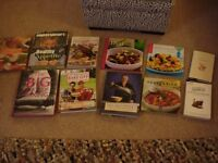 Selection of Cookbooks/Baking Books Very Good Condition