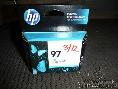 New Genuine OEM HP 97 C9363WN Tri-Color Inkjet DeskJet 460 5740 6520 APR 2013