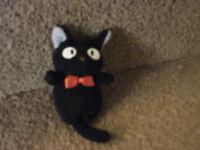 Studio Ghibli Jiji Plush black cat from Kikis Delivery Service