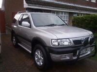 Vauxhall fronterra 2.2 dti rs