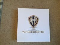 WBros 90 years film collection in mint unused condition 2 volumes of 90 dvds very collectible£195