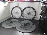 Campagnolo Shamal Ultra Mega G3 racing wheels