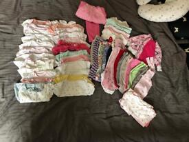 Big bundle more than 100 pieces baby girl clothes 3-6 month