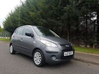 MARCH 2010 HYUNDAI I10 CLASSIC 5DOOR HATCHBACK 1248cc PETROL BARGAIN TRADE IN TO CLEAR MOT MAY 2018