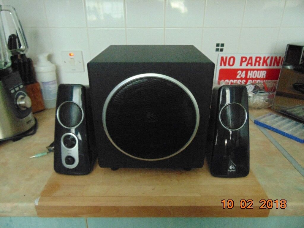 abb79cb9cd9 logitech speaker system z523 for pc in good condition   in Sheffield ...