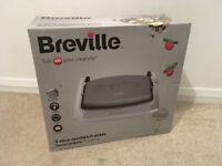 Sealed/Brand New Breville VST071 Dura Ceramic Sandwich Press Light Grey