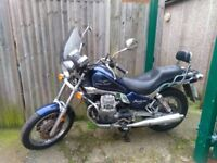 Moto Guzzi Nevada that Turns Heads and is a Great Ride, fitted with New tires and Brakes.