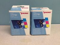 2 Inkjet cartridges, tricolor, for printers using HP No. 78