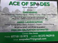 Ace of spades gardening/landscaping services