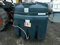 Titan 2500 litre bunded oil tank or diesel bio fuel storage