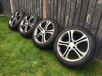 """17"""" Mercedes A class W176 Alloy Wheels And Tyres (2012-) 225/45R17 225 45 17"""