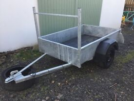New 6x4 Galvanised trailer