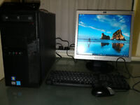 Super Fast PC setup with Win 10 and WiFi. SSD for sale
