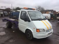 Ford transit recovery long mot ready to work