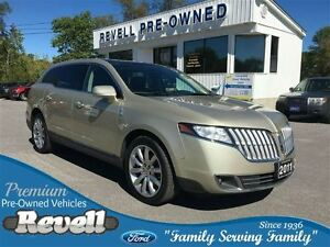 2011 Lincoln MKT AWD...Moonroof, Htd/cooled leather buckets, Nav