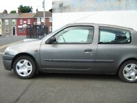 RENAULT CLIO-1999--FOR PARTS-DRIVING,GREAT ENGINE