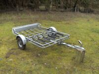 PENDLE 6 CYCLE TRANSPORTER CAR TRAILER FULLY GALVANISED...