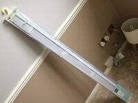 brand new Silver blind 1.2metres by 1.6m drop (max). mint