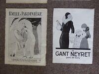 Vintage magazine adverts