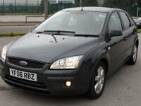 FORD FOCUS TDCI SPORT GREY 2006 - MOT END MARCH 2017 SERVICE HISTORY