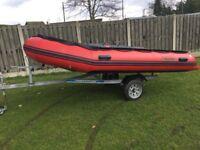 Boat/ trailer / outboard